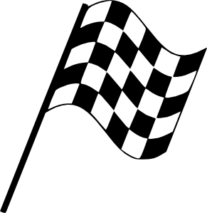 Rally flag hoejre